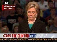 """Hillary Clinton's concession speech in the 2008 presidential election campaign had to thank her supporters while transitioning them to supporting her opponent, Barack Obama. Read how she used the soaring hall and the audience itself to pull this off. From The Eloquent Woman blog's """"Famous Speech Friday"""" series."""
