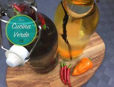 Chili-Schnaps ansetzen - Rezept von Joes Cucina Verde Thai Chili, Party Drinks, Vodka, Schnapps