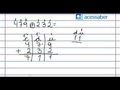 Atividade de matemática: As quatro operações e problemas - 3º ou 4º ano - Acessaber