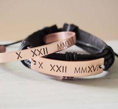 Personalized Couples Bracelets, Couples Bracelet, anniversary gift for men,  boyfriend girlfriend bracelet, his her, Customized bracelets by CoordinatesBracelets on Etsy https://www.etsy.com/listing/218722538/personalized-couples-bracelets-couples