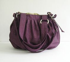 Ann Shoulder Bag in Rancho Arroyo Yellow by appetite on Etsy, $104.00