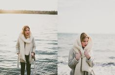 Lovely chunky scarf to keep warm through this never ending winter!