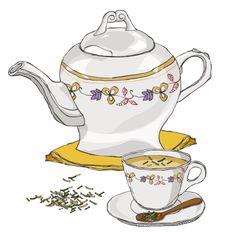 Royalty-free Illustration: Tea Pot And Tea Cup