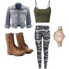 A fashion look from February 2015 featuring Silver Jeans Co. jackets, H&M leggings and MARC BY MARC JACOBS watches. Browse and shop related looks.