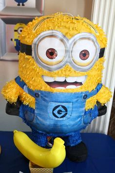 Despicable Me Birthday Party Ideas | Photo 1 of 36 | Catch My Party