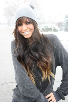 xoxo cleverly, yours: blizzards in march. Seriously love this look from this (great!) blog and her hair is GORGEOUS!