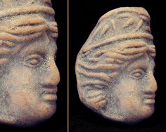 Ancient Roman Portrait Plaque Of A Woman  An by TonyArmato on Etsy