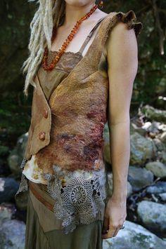 Pixiegirl Felt Clothing by Sarah-Maria by Pixiegirl Felt Clothing by Sarah-Maria, via Flickr