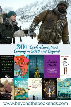 The best book adaptations becoming movies and TV shows in 2018, 2019 and beyond. Bestsellers turned into adaptations with some of the best stars like Nicole Kidman, Reese Witherspoon, Leonardo DiCaprio, Sam Mendes, James Franco, Amy Adams and more. Authors include JK Rowling, Brit Bennett, Angie Thomas, Gillian Flynn, Margaret Atwood, Agatha Christie, Kristin Hannah and more.