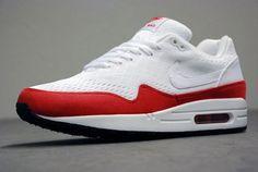 online retailer 6fdae 4f6d4 Nike Air Max 1 EM Womens White University Red