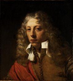 (1600-1660) Willem Drost, Dutch, 1630-1680, Portrait of a Young Man, ca. 1655