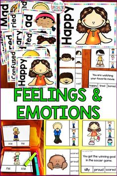 Help students learn to identify feelings and emotions and how or when you would feel them with this set of tasks cards and posters. 2 Levels!! This set is great for mastering and generalizing skills from direct instruction to work task boxes. Perfect for social workers, speech therapy, ABA, AVB programs, special education classes, life skills programs, autism classes and more!