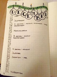 Calligraphie bullet journal : 20 belles typo - Clem Around The Corner Bullet Journal Monthly Calendar, December Bullet Journal, Bullet Journal Hacks, Bullet Journal Layout, My Journal, Bullet Journal Inspiration, Journal Pages, Bullet Journal Christmas, Journaling