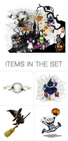 Trick-r-Treat Gone Bad by kelsjax on Polyvore featuring art - My friends and I were spooked and we ran as fast as we could until we came across a skeleton. Stop I want to talk. I never have visitors. We were all stunned and frozen in our tracks. We had no idea what would happen if we left. He began telling us a story of what it was like when he was a kid, How friend use to come and play. Until one night the played hide-n-seek and no one found him. when he came out from hiding he said to his…