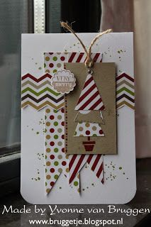 Yvonne's Scrap Blog: Stampin'Up Christmas Card