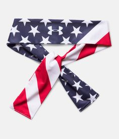 Shop Under Armour for Women s UA 4th Of July Tie Headband in our Womens  Headbands department d18c8b611d8