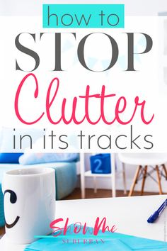 Looking for tips to create a clutter-free home? Struggling to keep up with your home organization? These do's and don'ts will help you organize and declutter your bathroom, kitchen, bedroom, closet, and your whole home. Declutter Your Life, Clutter Free Home, Home Decor Store, Spring Cleaning, Organization Hacks, Decoration, Cleaning Hacks, Keep It Cleaner, Household