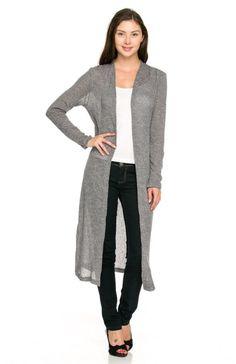maxi cardigan | Fashion & accessories: gloves, hats, belts, coats ...