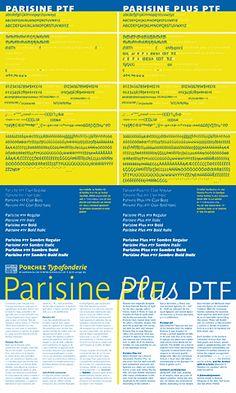 Porchez Typofonderie [Fonts Typefaces] - Printed specimens