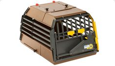 MIM Safe Variocage Minimax | 4x4NorthAmerica  MIM Safe Variocage MiniMax 	forsmalldogs     The bars in the MIM Safe Variocage MiniMax are closer together to prevent smaller dogs and cats from escaping or poking their heads out between bars during transit. Its small footprint leaves considerable space for additional cargo.