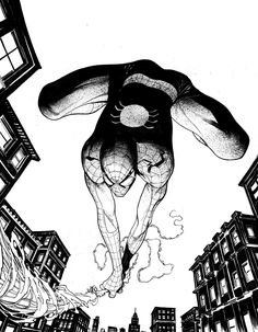 Spider-Man by Geoff Shaw