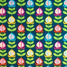 オーガニックコットンの良質なジャージ生地をドイツお取り寄せしました。ドイツのテキスタイルデザイナーのダイアナさんが描いたオランダ風花柄モチーフ。どこか70年代...|ハンドメイド、手作り、手仕事品の通販・販売・購入ならCreema。