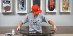 Como colocar lixa no skate - Sobre skate - Clube do skate