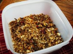 My Mom's best homemade Granola recipe is so easy you'll wonder why you never made this before!