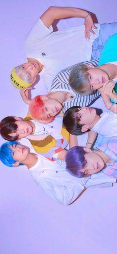 BTS 💜✨🌈 jin with purple hair😍😘 Foto Bts, Bts Photo, Hoseok, Namjoon, Taehyung, Rapmon, Wallpapers Kpop, Fanmeeting Bts, Vlive Bts
