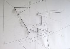 point line plane Architectural Thesis, Arch Model, Drawing S, Sculpture Art, Line Art, Wire, Architecture, Illusion, Theatre