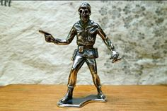 Sterling silver Army Man. Great gift for someone who has everything.  They're only $235.