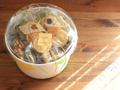 お菓子の簡単ラッピング クッキーの詰め合わせ