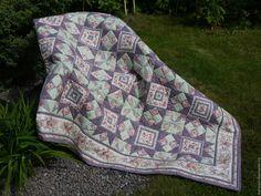 """Купить одеяло лоскутное """"Розовые мечты"""" - комбинированный, одеяло пэчворк, одеяло лоскутное, одеяло"""