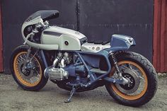 RocketGarage Cafe Racer: Honda GL1200 Goldwing 1976