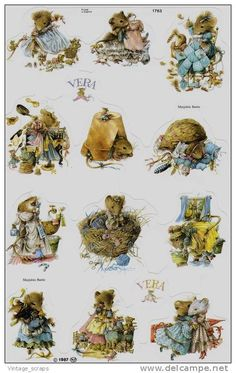 Marjolein Bastin Vera the Mouse Marjolein Bastin, Pretty Pictures, Pretty Pics, Hand Embroidery Patterns, Illustrations And Posters, Christmas Pictures, Cute Illustration, Little Dogs, Animals Beautiful