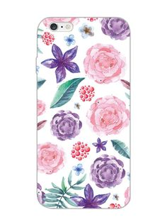 Floral Pattern Hand Print - Designer Mobile Phone Case Cover for Apple iPhone 6 Plus