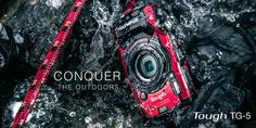 TG-5 Waterproof Digital Camera, 4k, Wi-Fi   | Olympus