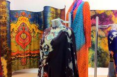 Marian Clayden shibori exhibit 2014