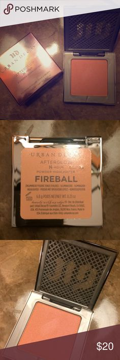 Urban Decay: Fireball Afterglow Powder Highlighter Beautiful long lasting powder highlighter. Brand new. Urban Decay Other