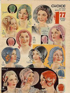 free vintage image flapper hat