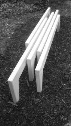 Bespoke wooden bench