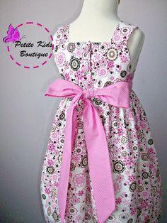 Tiffany Dress Size 1T6T  PDF patternEasy sew by Petitekids on Etsy, $6.90
