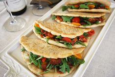 Piadine (Italian flatbread) with Bacon, Lettuce & Tomato no bacon, or turkey bacon, maybe some eggs, anything really!