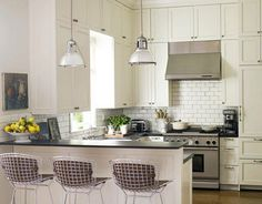 """""""A White Kitchen is Timeless"""""""