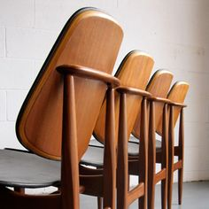 Elliots of Newbury dining chairs - sweet-vintage