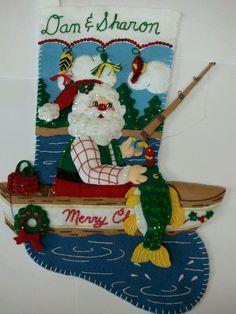 Fishing Santa for Danny & Sharon