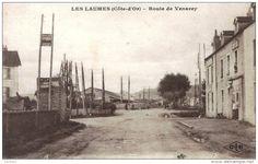 Les Laumes.  Route de Venarey