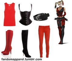 Harley Quinn.. I want this when I go to costume parties :3
