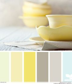 gris et jaune