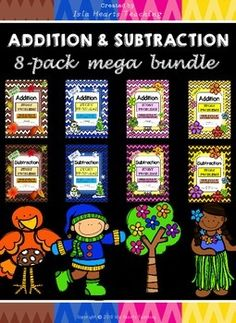 WORD PROBLEMS: Word Problems 8-pack MEGA BUNDLE FOR THE FOUR SEASONS!